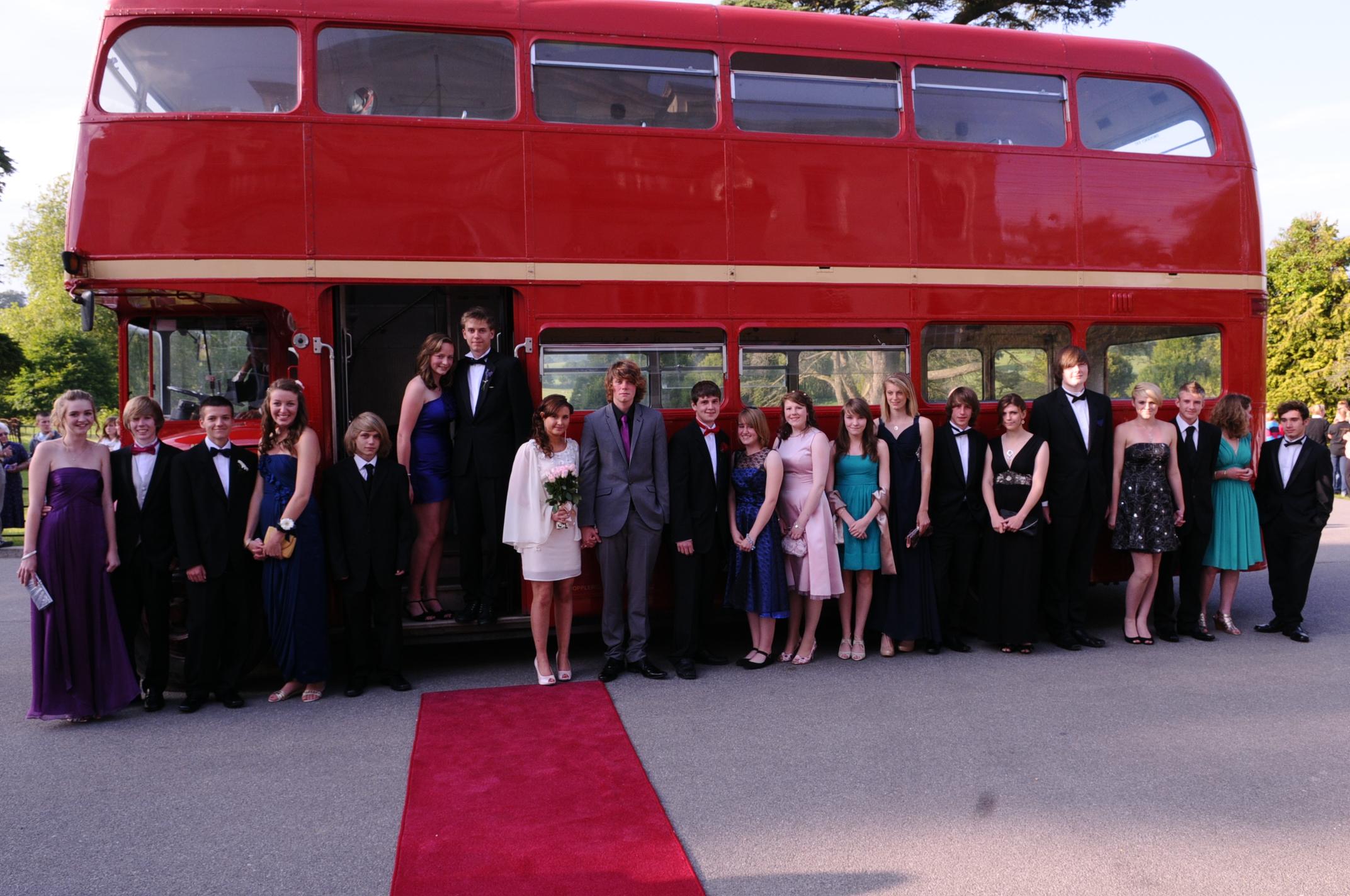 School Prom Bus